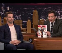 Chris Pine visits Jimmy Fallon on 'The Tonight Show'