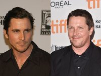 Christian Bale Machinist and post-Backseat weight gain