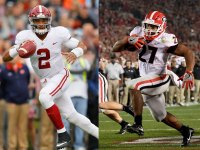 How 13 Alabama and Georgia Players Trained for the 2018 College Football National Championship Game