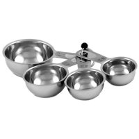 CIA Masters Collection Stainless Steel Measuring Cups