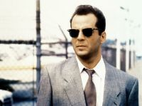 Bruce Willis wearing Clubmasters