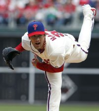MLB Suspends Phillies' Cole Hamels for Beaning Nationals' Rookie Bryce Harper