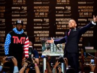 Conor McGregor, Floyd Mayweather fight