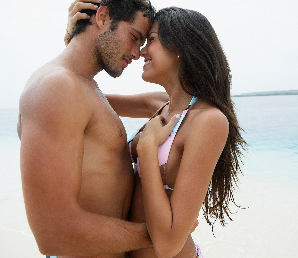 Beach couples nude sex free