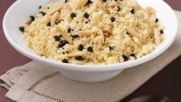 Couscous With Currants & Almonds