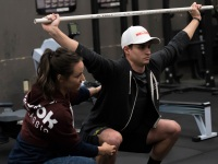 Crashed Ice Athletes Train With Camille-Leblanc Bazinet