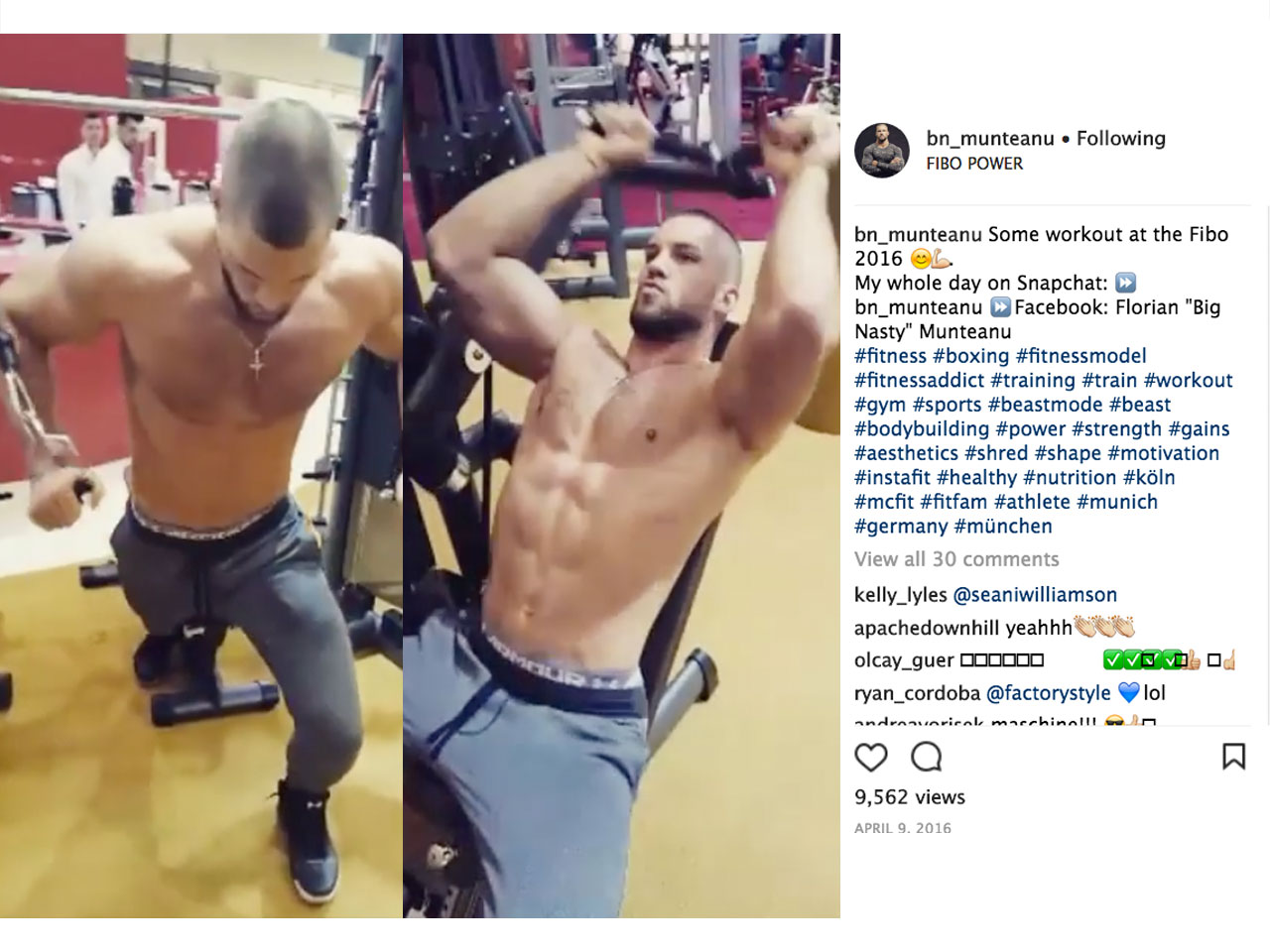 762aae03a03f43 Creed 2   Boxer Florian Munteanu s Playing Ivan Drago s Son. Here ...