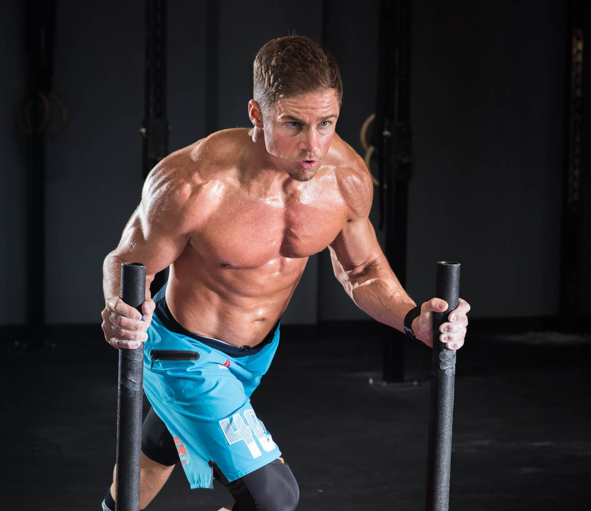 Dan Wells, CrossFit Games competitor and owner of CrossFit Horsepower in Los Angeles.