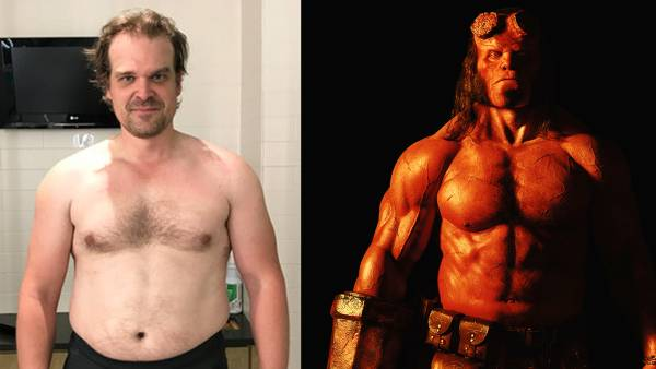 David Harbour's Extreme 'Hellboy' Body Transformation and Workout Routine