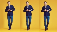 How to Pull Off a Double-Breasted Jacket for Fall