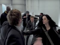 The Defenders hallway fight