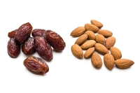 1. Almonds and dates