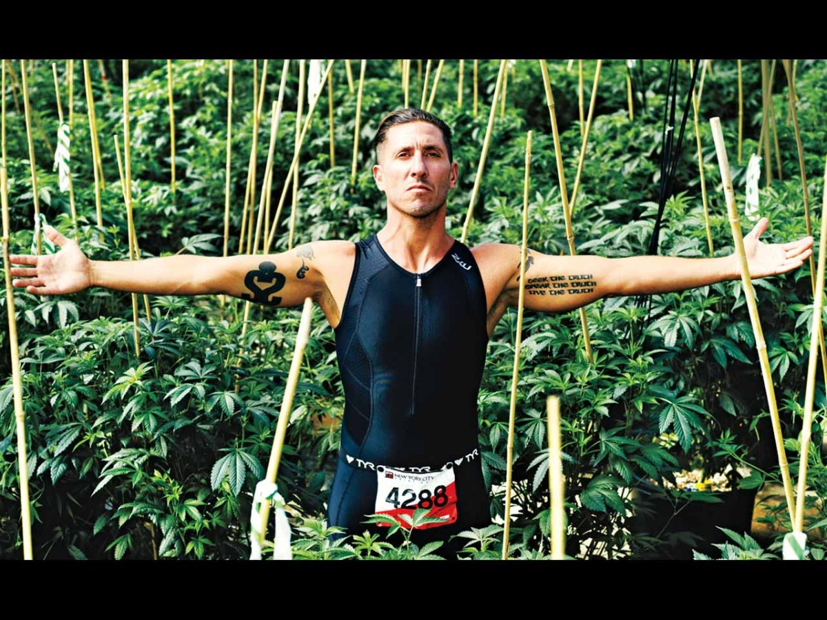 Does pot make you a better athlete?