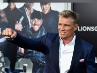 Dolph Lundgren at Expendables premire