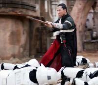 Donnie Yen stars as Chirrut ÃŽmwe in 'Rogue One: A Star Wars Story'