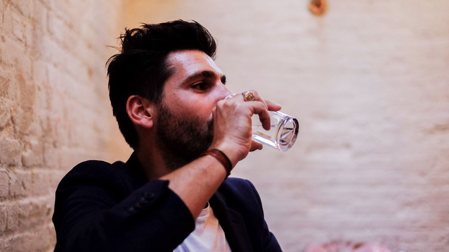 Drinking Glass of Water