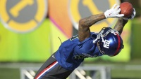 Watch: Odell Beckham Jr. Catches Football Dropped From 125 Feet