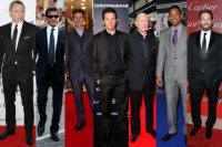 Daniel Craig, Sylvester Stallone, Tom Cruise, Mark Wahlberg, Bruce Willis, Will Smith, and Ben Affleck