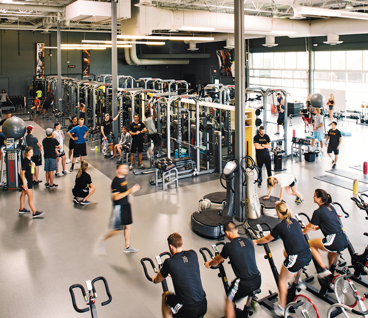 In the Gym With Mark Verstegen, Athletes' Performance