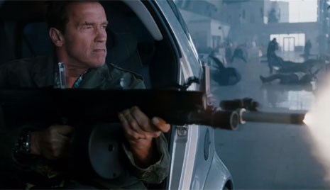 Arnold Answers: Filming the Expendables 2