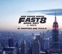 """The movie poster for """"Fast 8."""""""