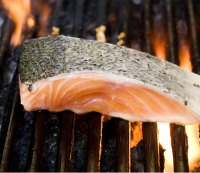 Father's Day Recipe: Grilled Salmon With Farro, Peas, and Radishes