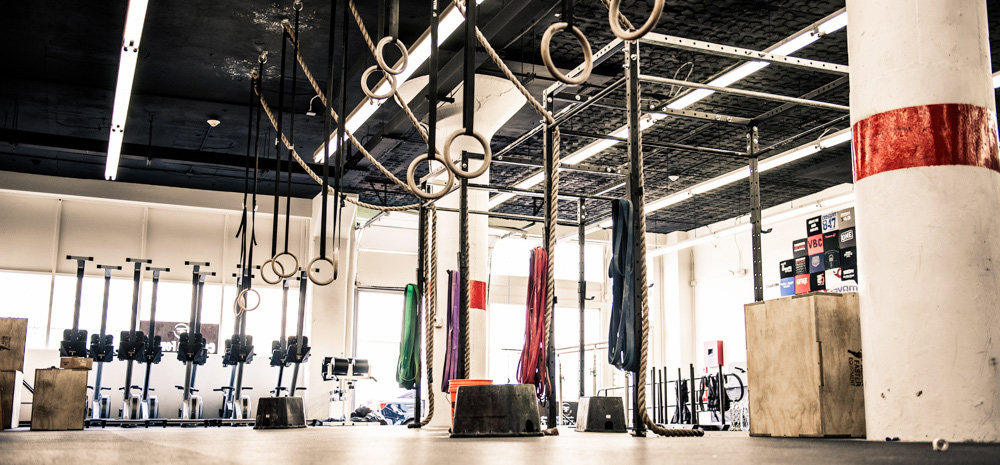 reebok fit hub store crossfit gym opens in new york city interior design shops nyc CrossFit Fenway in Boston, MA
