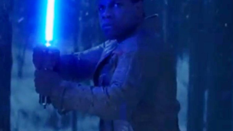 """""""There Has Been an Awakening"""": Look Who Wields a Lightsaber in the New """"Star Wars"""" Clip"""