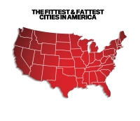 The 2014 Fittest and Fattest Cities in America: the List
