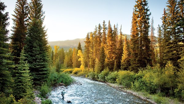 Fly Fishing Near Park City, Utah