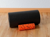 They don't go anywhere without a foam roller.
