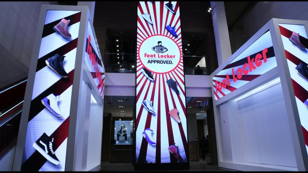Foot Locker opens massive flagship location in Times Square