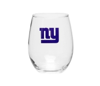 NFL Team Stemless Wine Glass