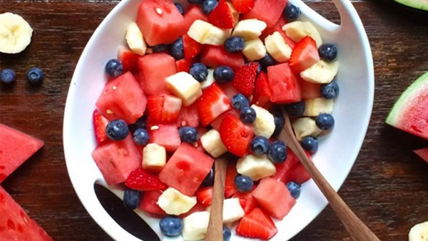 How to Make the Fourth of July Fruit Salad