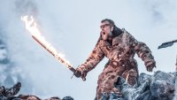 Game of Thrones, Beric Flaming Sword, Beyond the Wall