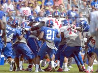NFL training camp fight, Giants