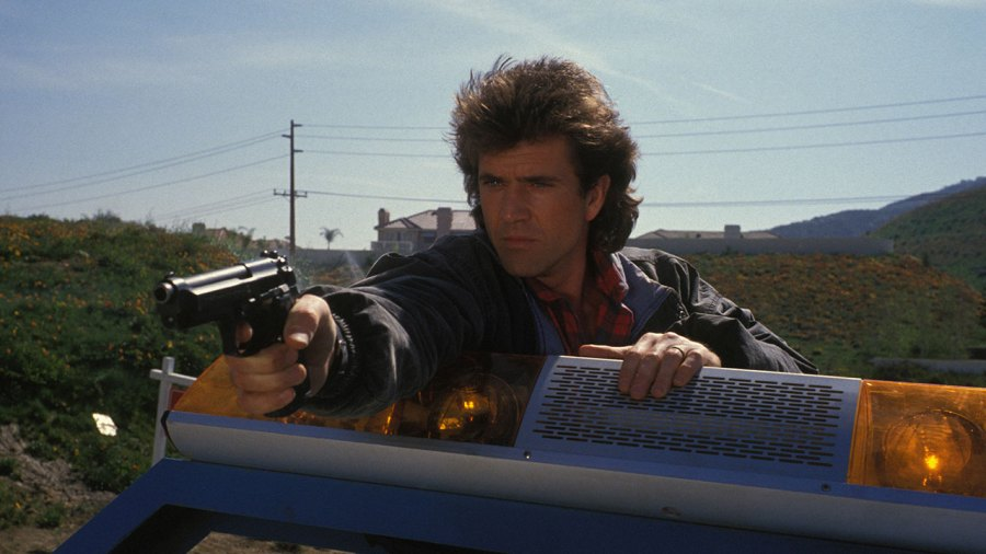 Mel Gibson in 'Lethal Weapon'