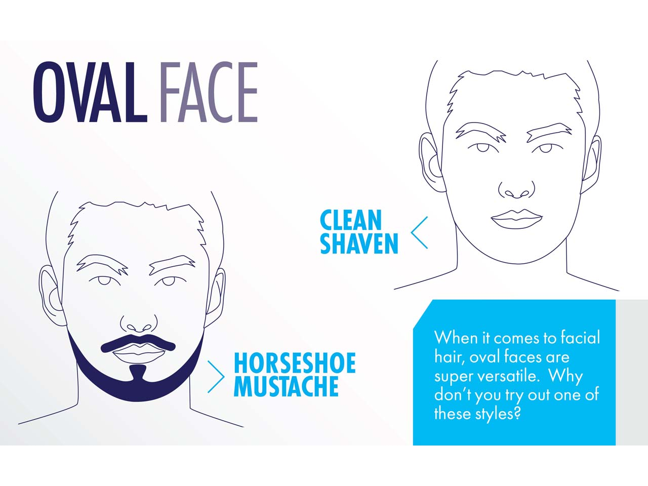 The best beard and mustache styles for every guy\'s face shape
