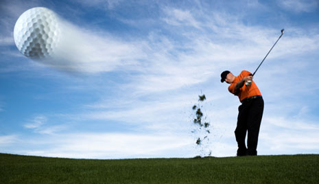 Resistance training for a stronger golf swing
