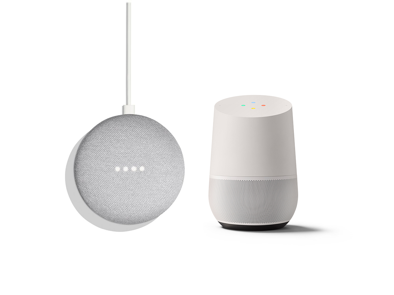 Google Home Mini and Google Home devices