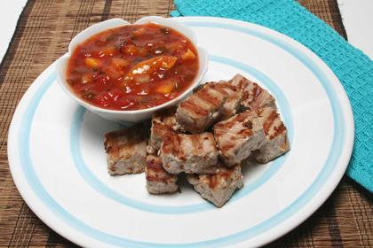 Healthy Recipe: Grilled Ginger Tuna