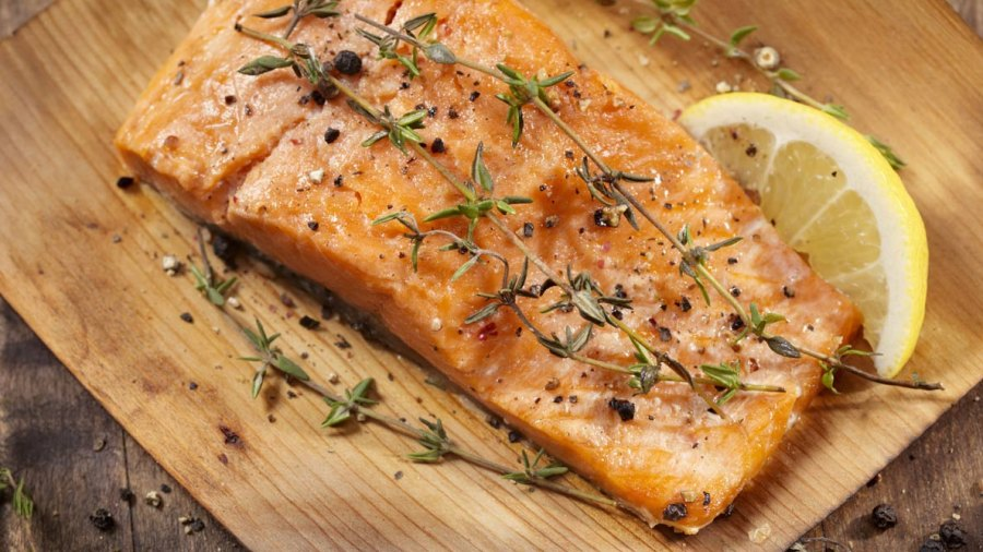 Grilled Beer Salmon