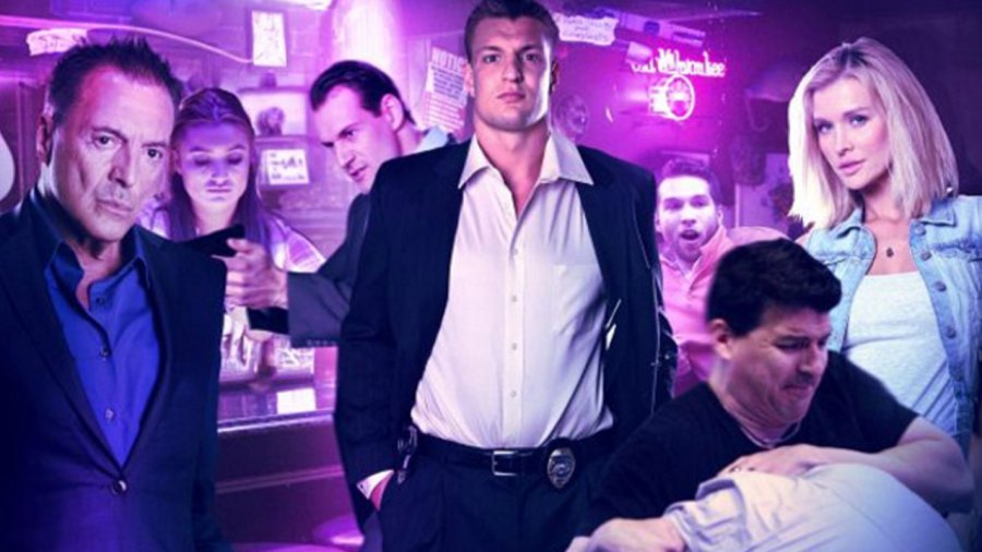 Watch: Rob Gronkowski Stars As a Cop in 'You Can't Have It,' the Gronk-est Movie Possible