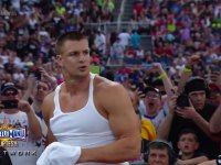 Rob Gronkowski at Wresltemania
