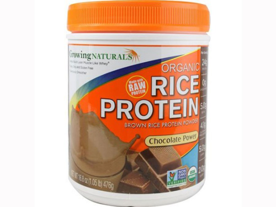Growing Naturals Brown Rice Protein