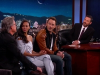 The Cast Of 'Guardians Of The Galaxy Vol. 2' Appears On 'Jimmy Kimmel Live'