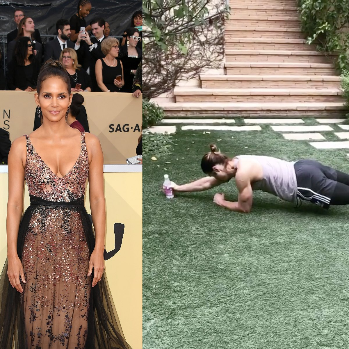 Halle Berry: Ihr rustikales Tuff Tire Training - FIT FOR FUN
