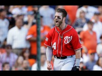 Bryce Harper's Swinging and Lifting so Hard This Offseason, His Hands Are Destroyed