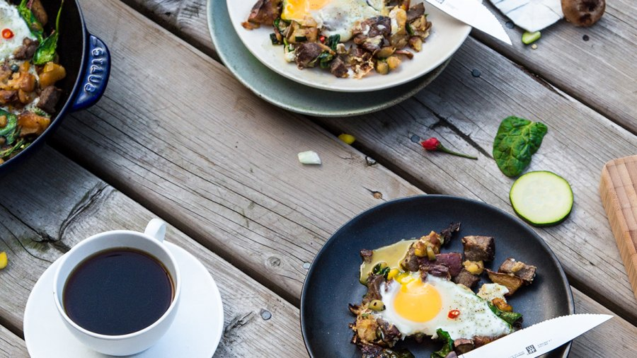 How to Cook the Steak and Yam Hash—A Morning-After Breakfast to Build Muscle