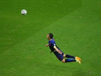 Robin Van Persie Header World Cup